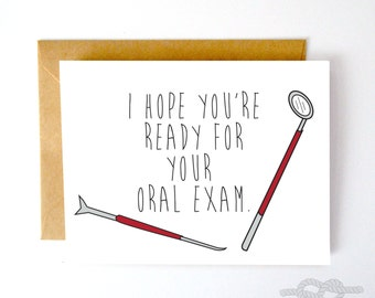 Funny Valentines Card, Funny Greeting Card, Funny Love Card, Dentist Card, Dentist, Funny Card, Love Card, Valentine Card, Card for Her