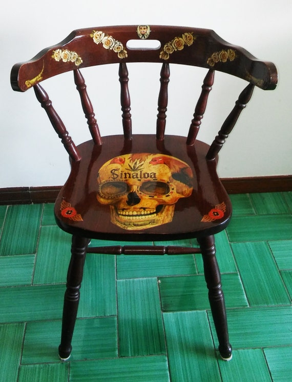 Calavera Chair Skull