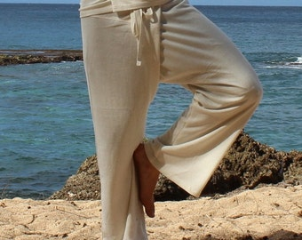 Thai Fisherman Pants- (Hemp-Cotton 55/45%)