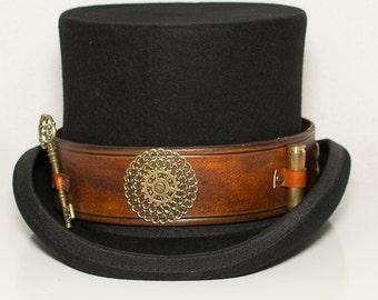 "Steampunk hat ""Key keeper"""