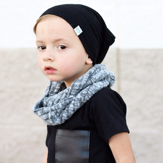 gray toddler scarf toddler infinity scarf baby infinity