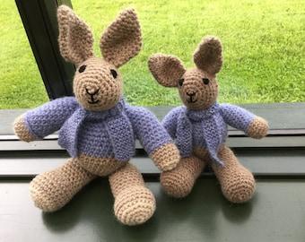 Handmade Crochet Bunny Rabbits