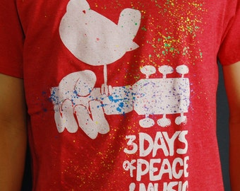 Woodstock T-Shirts for Men