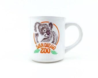 Vintage San Diego Zoo Coffee Mug