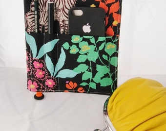 Fabric Journal, Notebook, Diary, Echino Linen Blend fabric