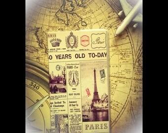 Vintage notebook / travel notebook
