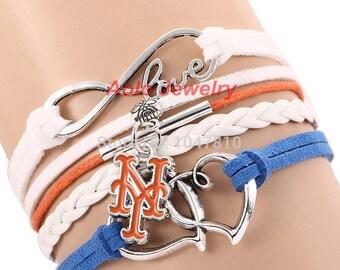 New york mets bracelet