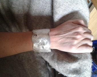 slave silver bracelet