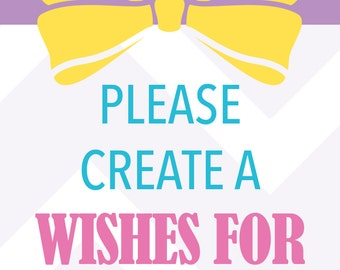 Wishes for Baby Add-On, Wishes for Baby Card
