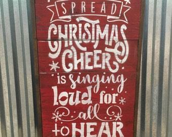 Christmas Sign, Christmas Decor, holiday Sign, christmas words Sign, holiday decor, seasonal decor, holiday sign, rustic holiday sign, fall