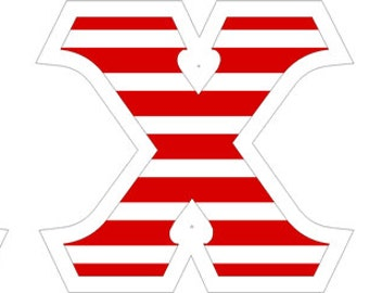 alpha chi omega american flag giant greek letter sticker