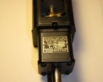 Antique GE Inverse Time Limit Overcurrent Relay