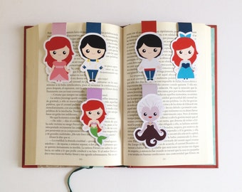 Sea Princess Magnetic Bookmarks