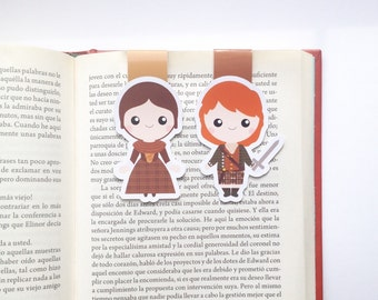 Outlander Magnetic Bookmark - Outlander Bookmark