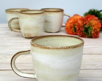 espresso mug, white mug, ceramic mug, handmade coffee mug, coffee lovers gift,ceramic espresso cup,italy espresso cup,rustic coffee mug