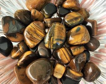 Tigers Eye, Healing Crystals and Gemstones infused w/ Reiki