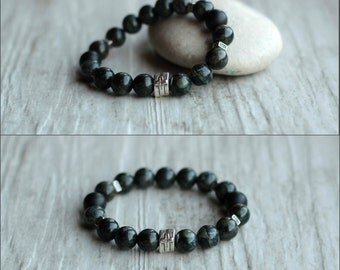 men bracelet for men jewelry jasper husband gift for him cross bracelet energy bracelet minimalist everyday bracelet gemstone jewelry stone