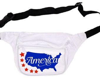 4th of July Fanny Pack