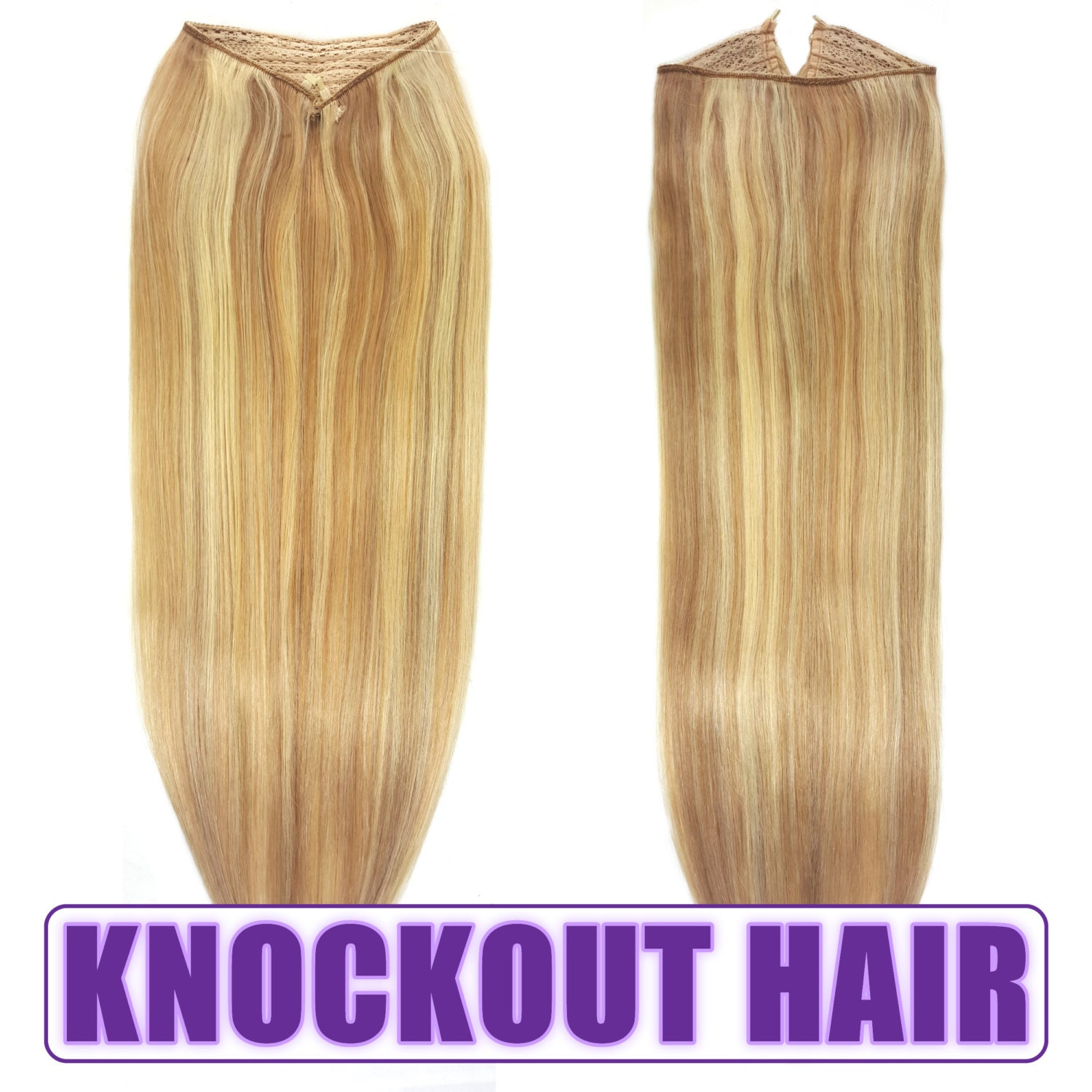 Fits like a halo hair extensions 20 dark blondelight blonde p7b fits like a halo hair extensions 20 dark blondelight blonde p7b613 human no clip in flip in couture by knockout hair pmusecretfo Choice Image