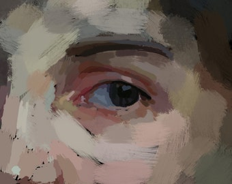 Small print - Beauty - Classical digital painting