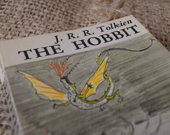 The Hobbit. JRR Tolkien. Paperback published by Unwin Books.