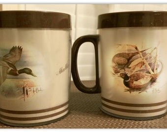 Pheasant Duck Mugs Coffee Cups