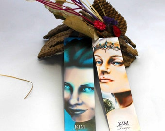 Bookmark Bundle 2 pieces - fantasy bookmark - medusa bookmark - elfe Bookmark - bundle - marker fantasy - book mark fantasy