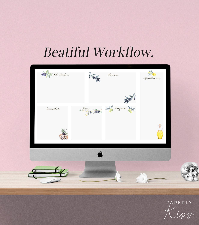 desktop organizer business workflow wallpaper digital