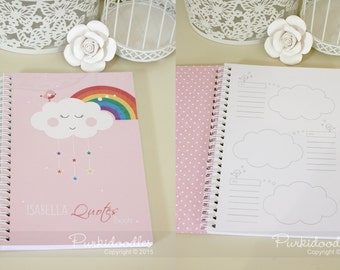 Quotes Book (Girls) - customised with your girls name