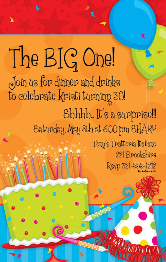 Big birthday celebration invitationbirthday party invitebirthday il570xn filmwisefo