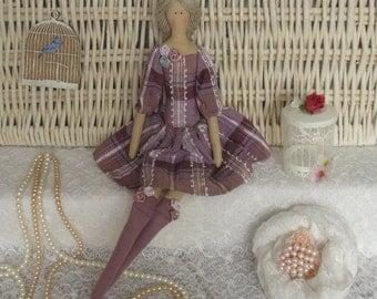 Tilda doll handmade Elina