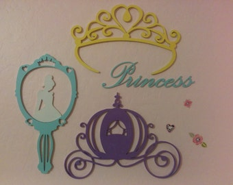 Disney inspired laster cut Princess collection