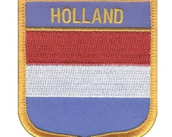 Holland Patch (Iron on)