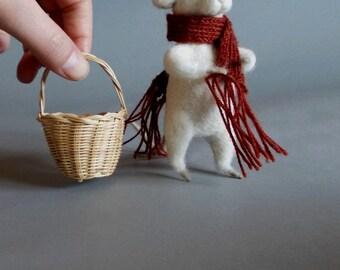 needle felt mouse patterns - Felted animal tutorial - Felt animal pattern