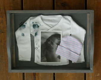 Build A Story Kit: Baby Hospital Outfit Tray Display
