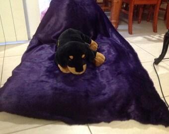 Fur beanbag large purple triangle faux fur bean bag chair lounge rumpus.
