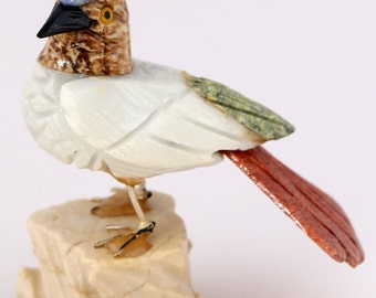 Hand Carved Stone Bird  BIR5