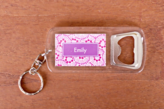 personalized bottle opener key chain stocking stuffer gifts. Black Bedroom Furniture Sets. Home Design Ideas