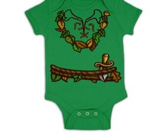Pan Costume baby grow