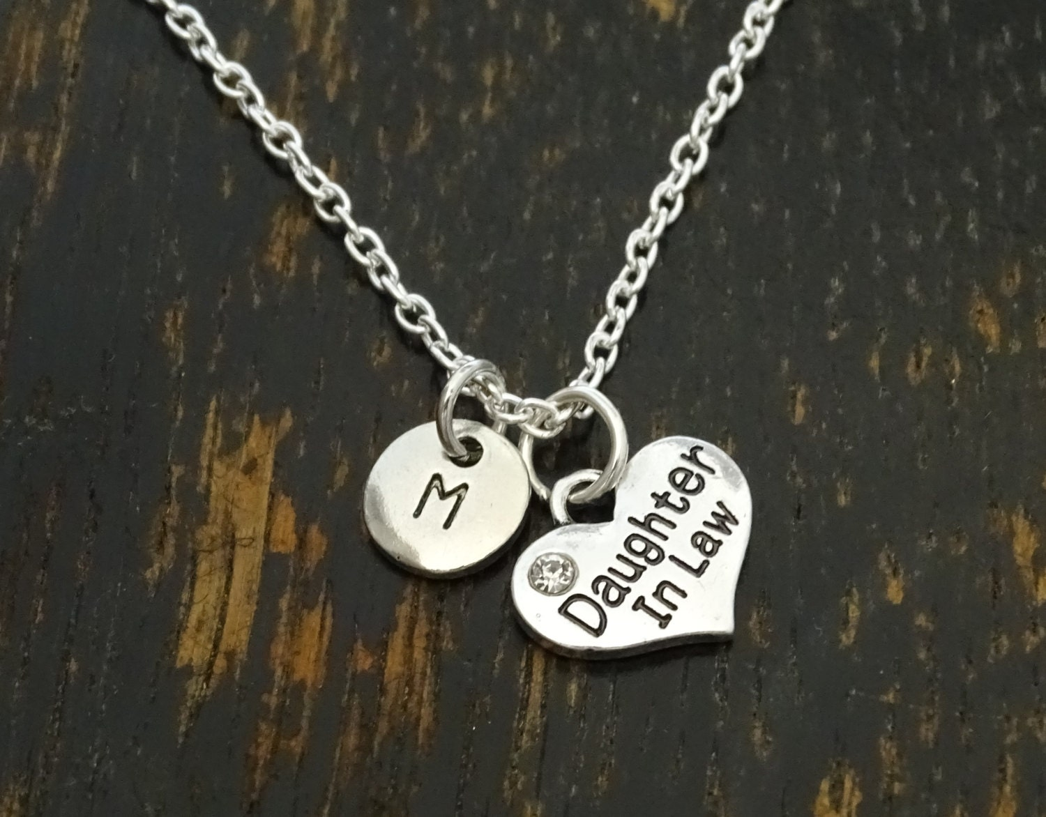 Daughter In Law Necklace Daughter In Law Jewelry Daughter In