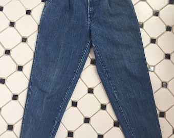 Vintage 80s High Waisted Chic Jean Pants