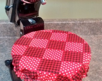 Fabric Mixing Bowl Cover/KitchenAid Bowl Covers/Reversible/Reusable/Stand mixer cover