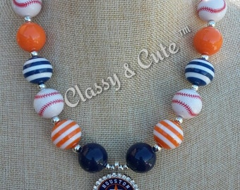 Houston Astros Necklace