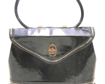 Vintage Patent Leather Purse