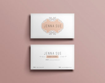 Elegant business card template / Modern business card design
