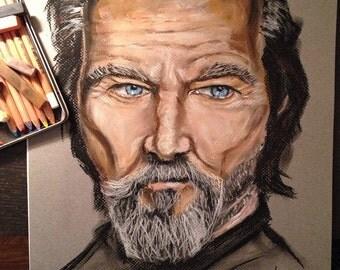 Custom pastel portrait drawing, pastel painting, pastel portrait, art gift, realistic