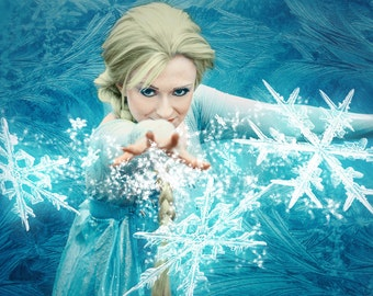 Premade Digital Background ~ Frosted