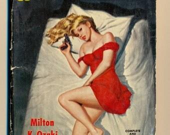 The Deadly Pickup vintage paperback 1960 pinup art