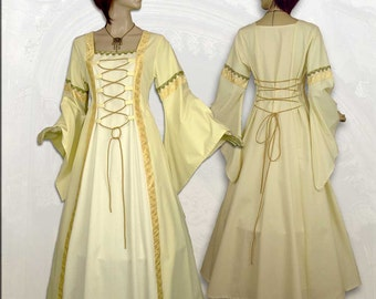 Middle Ages dress bridal gown wedding dress Maßanfertigung