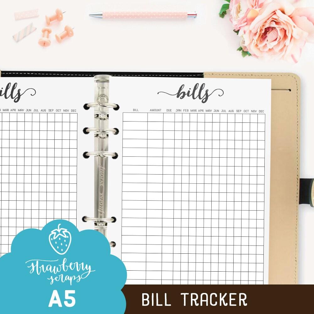 Finance tracker | Etsy